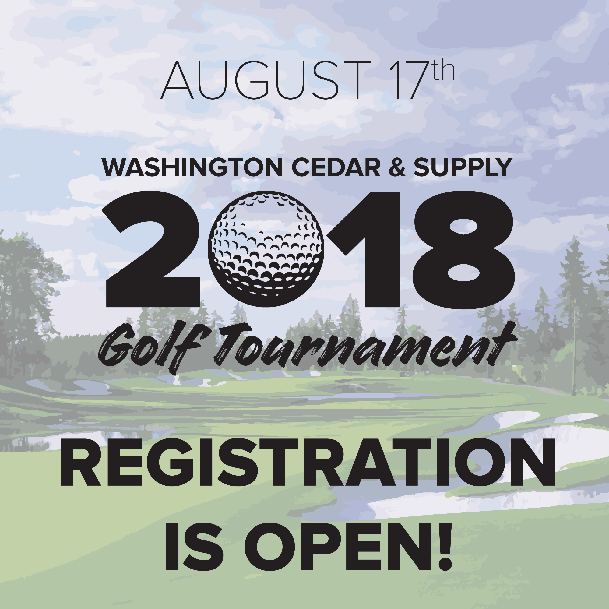 Blog Post Image REGISTRATION IS OPEN FOR OUR 2018 GOLF TOURNAMENT!