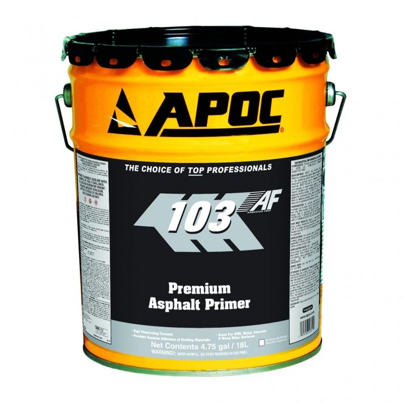 APOC #103 Fast Dry Asphalt Primer | Washington Cedar and Supply
