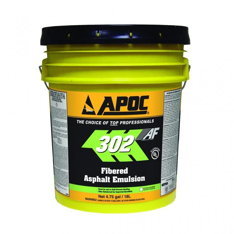 Apoc 302 Rainshield Wbf Fibered Asphalt Emulsion