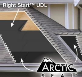 Arctic Seal Ice & Water Underlayment