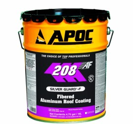 APOC #208 Silver Guard Fibered Aluminum Roof Coating