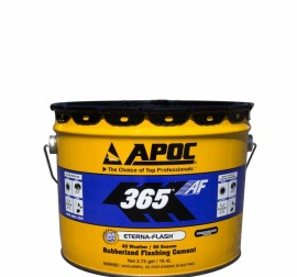 APOC #365 Eterna-Flash All Weather/All Season Rubberized Flashing Cement